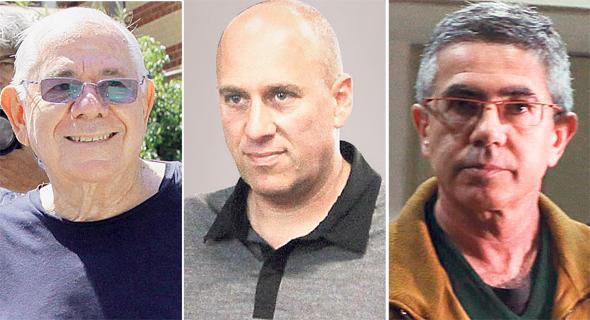 מימין יעקב (יאשה) חאין, אורן אהרונסון ודן כהן