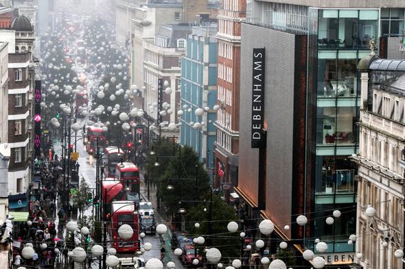 אוקספורד סטריט בלונדון , צילום: אי פי איי