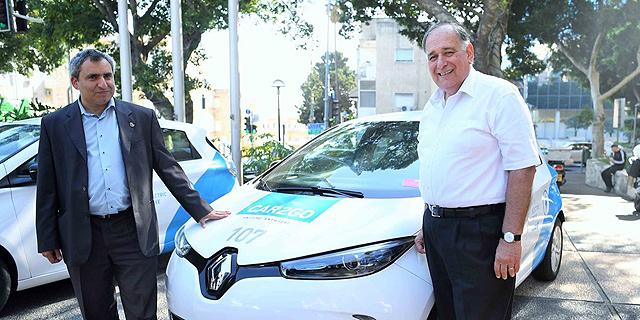 פרויקט התחבורה השיתופית של CAR2GO הושק בחיפה; דקת נסיעה תעלה 1.2-1.7 שקלים