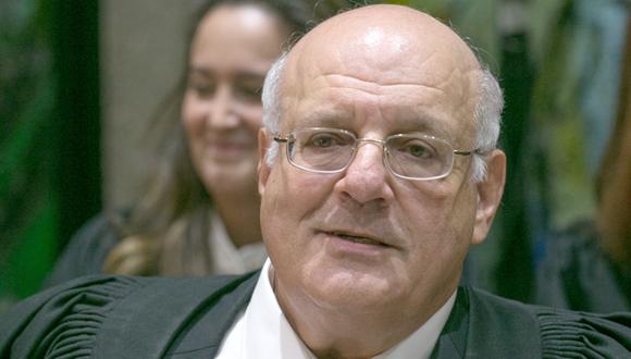 השופט מלצר, צילום: אוהד צויגנברג