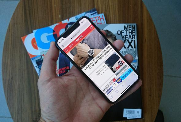 אייפון X סמארטפון אפל זיהוי פנים אייפונים 1, צילום: רפי קאהאן