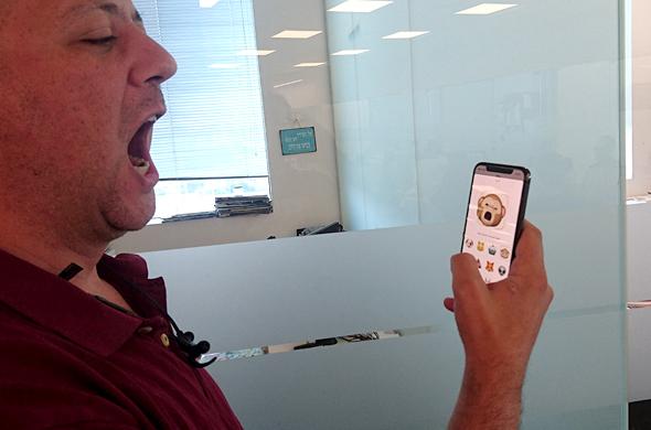 אייפון X סמארטפון אפל זיהוי פנים אייפונים 4, צילום: רפי קאהאן