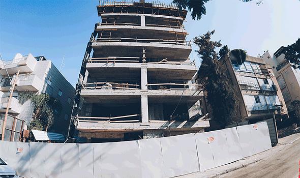 אתר בנייה של קבוצת NH ISRAEL ברמת גן, צילום: אוהד שביט