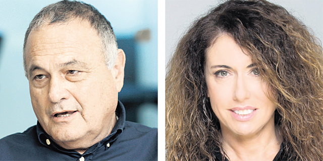 """מנכ""""לית בזק סטלה הנדלר והדירקטור החיצוני זאב וורמברנד, צילום: יחיאל ינאי, עמית שעל"""