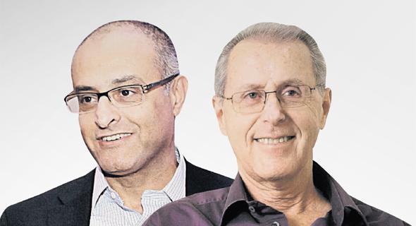 דוד מימון ו יעקב גנות, צילום: אלכס קולומויסקי, אוראל כהן,
