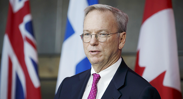 Owner of Innovation Endeavors Eric Schmidt. Photo: Bloomberg