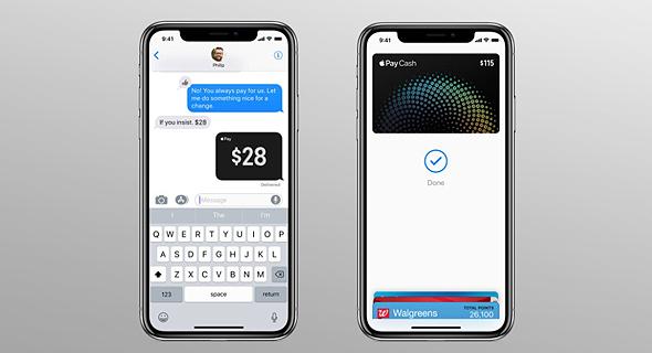 אפל cash תשלומים העברת כספים אפל פיי