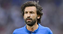 אנדראה פירלו במדי נבחרת איטליה, צילום: איי אף פי