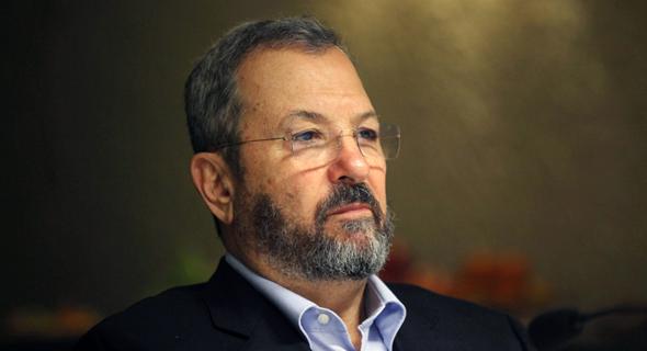 Former Prime Minister Ehud Barak (Credit: Amit Sha'al)