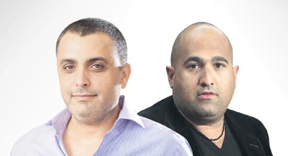 מימין: ברק אברמוב ואמיר יקותיאל