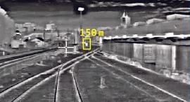 Rail Vision's system. Photo: PR