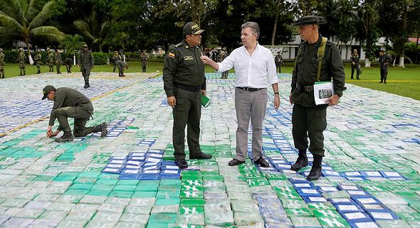 קלומביה. תפיסת הסמים הגדולה בהיסטוריה, צילום: רויטרס