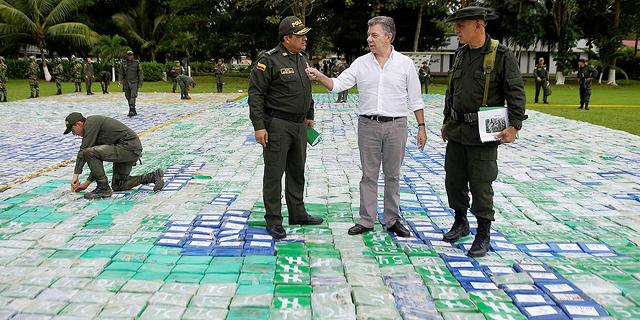תפיסת הסמים הגדולה בהיסטוריה: קולומביה החרימה 12 טונה של קוקאין