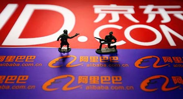 JD.com vs Alibaba (illustration)