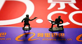 JD.com vs. Alibaba (Illustration)