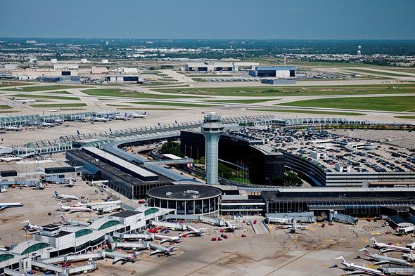 נמל התעופה או'הר בשיקאגו
