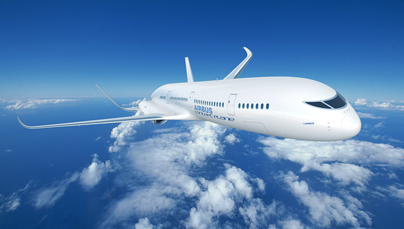 עיצוב קונספט של מטוס איירבוס