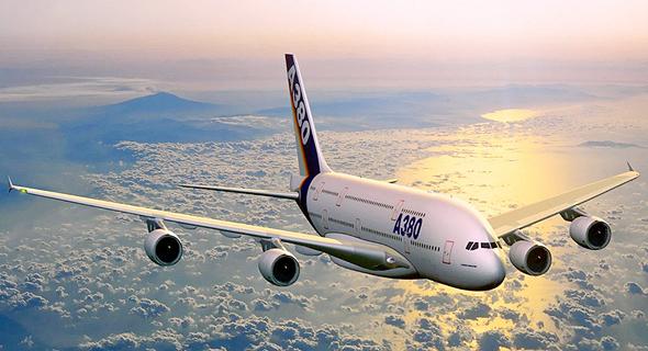 הקברניט איירבוס A380 תעופה