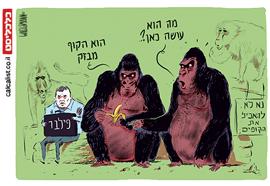 קריקטורה 12.11.17, איור: יונתן וקסמן