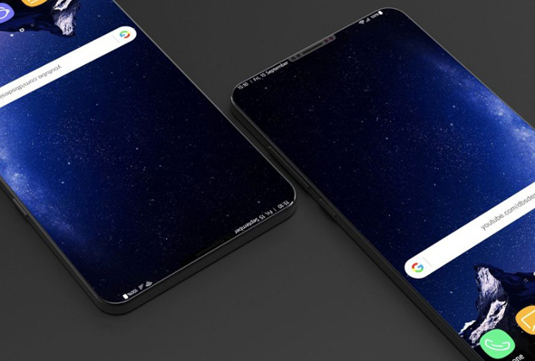סמסונג גלקסי S9 עיצוב, צילום: DBS
