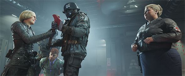 Screenshot from Wolfenstein II: The New Colossus