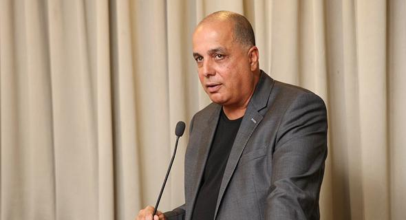 עמוס לוזון אסיפת אגח אפריקה ישראל, צילום: עמית שעל