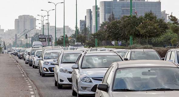 Traffic jam in Israel (illustration). Photo: Orel Cohen