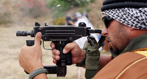 Uzi submachine gun. Photo: API