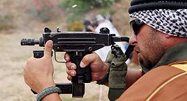 Uzi submachine gun, developed by IMI. Photo: EPA
