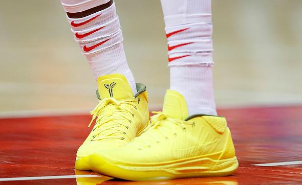 נעליים נייקי NBA דניס שרודר, צילום: איי אף פי