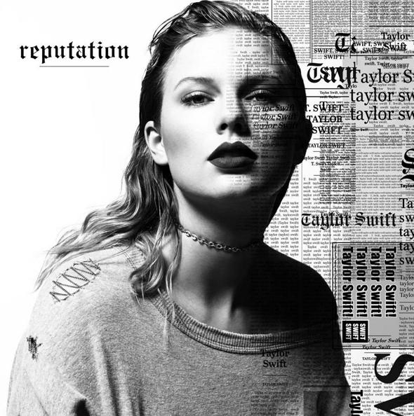 """עטיפת האלבום """"reputation"""" , צילום: באדיבות הליקון"""