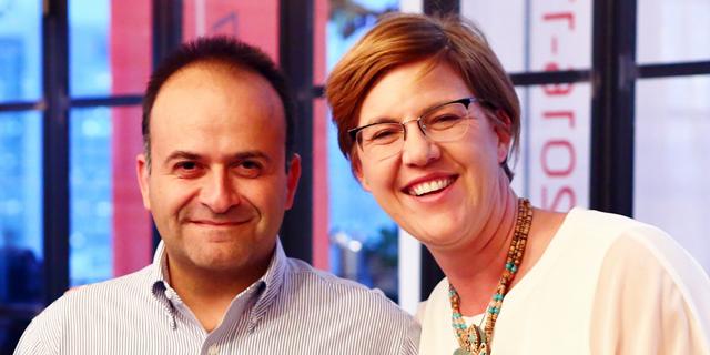 פיונה דרמון ויואב צרויה, צילום: דרור סיתהכל