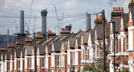 בתי מגורים ב לונדון, צילום: בלומברג