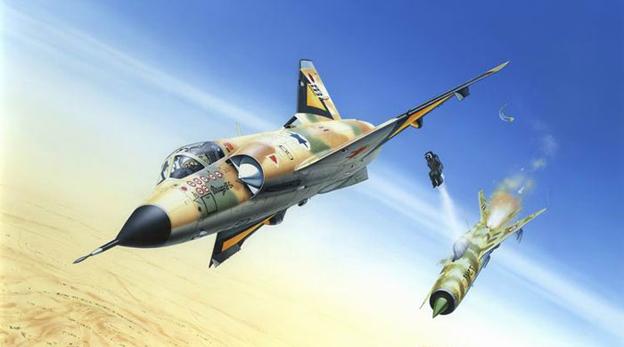 הקברניט מיראז' דאסו מטוס קרב 1, צילום: kitreview