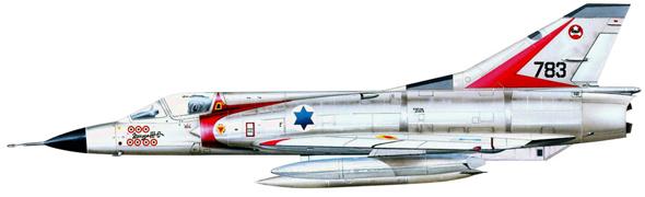 מיראז' 3 בצבעי חיל האוויר הישראלי