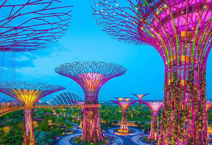 מקום 1. סינגפור, צילום: גטי אימג