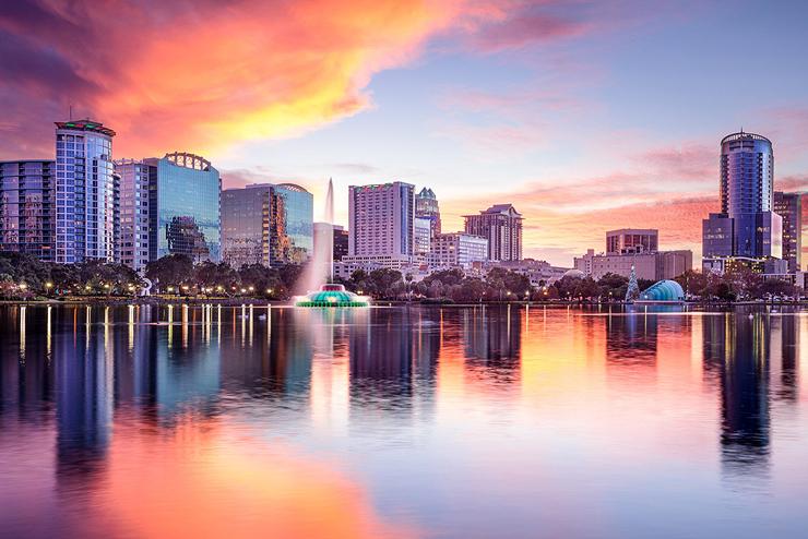 מקום 10. אורלנדו, פלורידה, צילום: גטי אימג