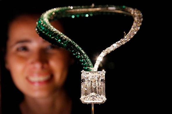 היהלום בגודל 163 קראט, צילום: רויטרס