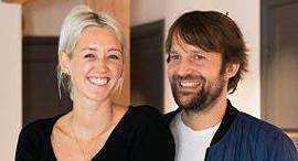 נדין לוי ו רנה רדזפי בבית קופנהאגן, צילום: LAERKE POSSELT