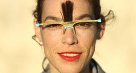 פנאי קולקציית תכשיטים עם שיער בעיצובה של נעמה אגסי, צילום: אוראל כהן