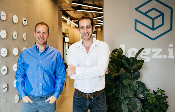 Logz.io co-founders Asaf Yigal and Tomer Levy (right). Photo: PR