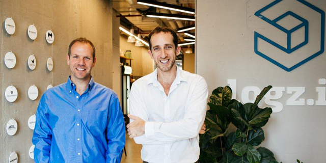 Logz.io co-founders Asaf Yigal (left) and Tomer Levy. Photo: PR