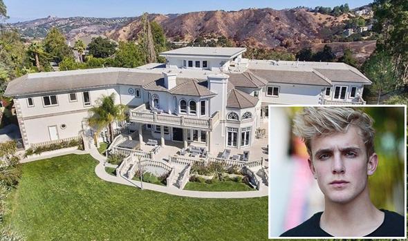 ג'ייק פול יוטיוב אחוזה הוליווד 1, צילום: Open Listings