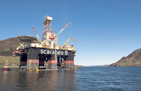 אסדת קידוח נפט בנורבגיה
