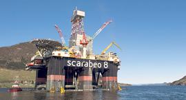 אסדת קידוח נפט, צילום: בלומברג
