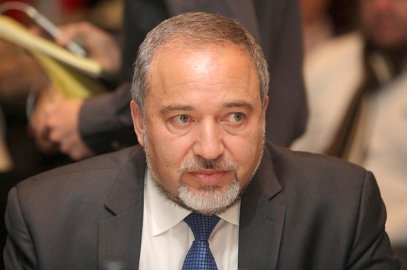 Defense Minister Avigdor Lieberman. Photo: Orel Cohen