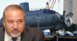אביגדור ליברמן שר החוץ צוללת, צילום: intercepts.defensenews, אוראל כהן