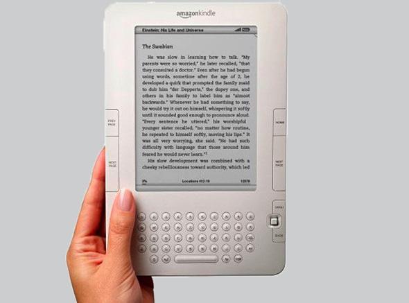 אמזון קינדל ספר אלקטרוני 1, צילום: amazon