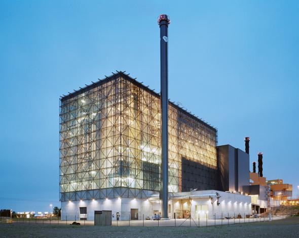מפעל מיחזור בשבדיה