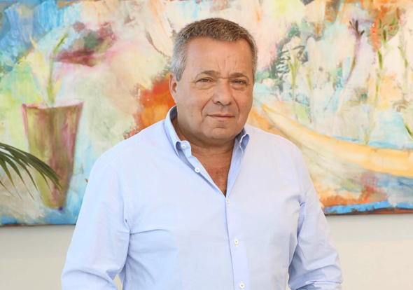 Ori Yehudai, Frutarom's chief executive and president. Photo: Sivan Farag